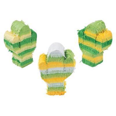 IN-13768158 Mini Cactus Pinata Decorations 1 Set(s)