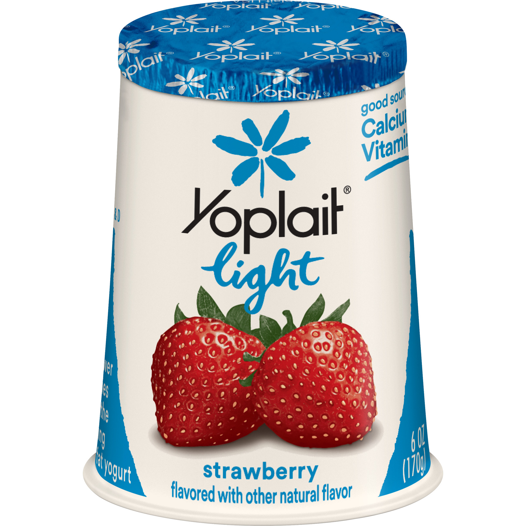 Yoplait Light Strawberry Fat-Free
