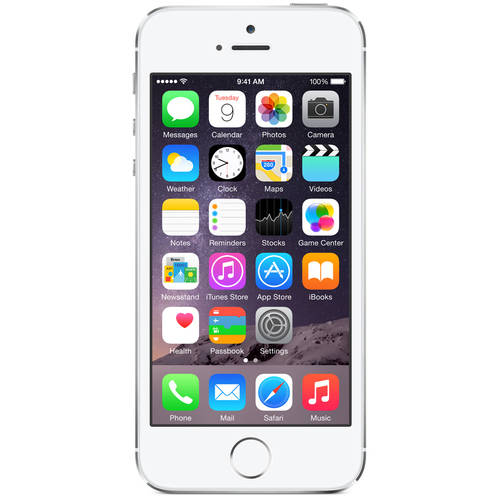 Refurbished Apple iPhone 5s 16GB Smartphone (Unlocked), White/Silver