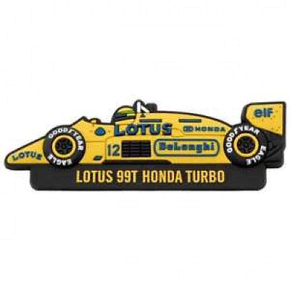 Ayrton Senna K/ühlschrankmagnet Classic Team Lotus