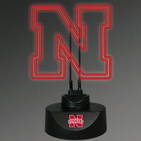 Memory Company NCAA NEON LAMP NEBRASKA