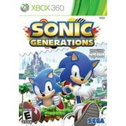 Sonic Generations, Sega, XBOX 360, 010086680560