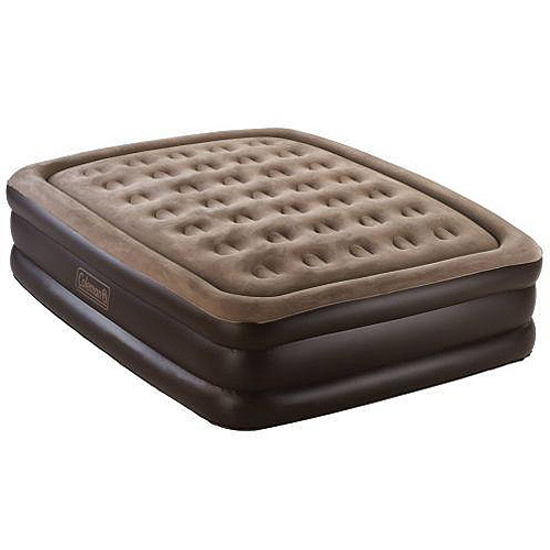 Colemen Queen Elevated Airbed with 120v Electric Pump