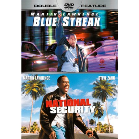 Blue Streak / National Security (Adjustable Security Dvd)