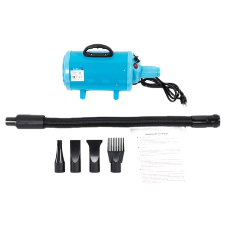 Ktaxon 2800W Portable Pet Dryer Pet Bathing Beauty Groomming Blow Hair Dryer Quick Draw Hairdryer 4 Color ()