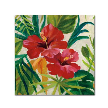 - Trademark Fine Art 'Tropical Jewels II v2 Crop' Canvas Art by Silvia Vassileva