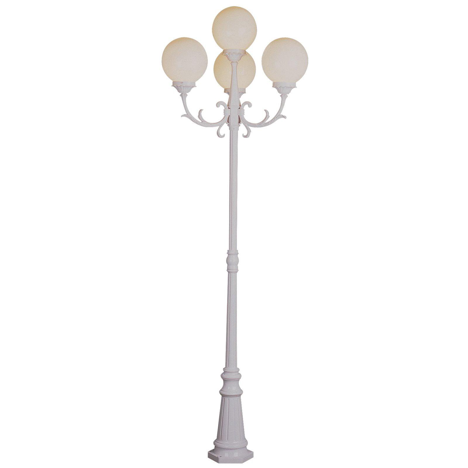 white outdoor post light hb7029 bel air alliance outdoor lamp post 89h in walmartcom