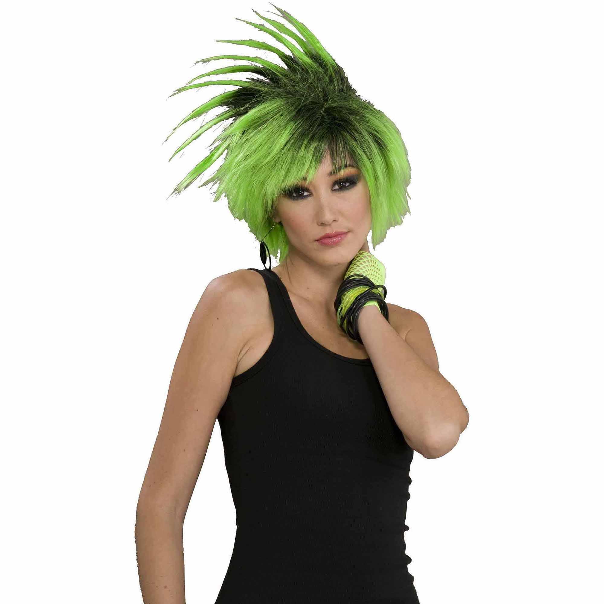 Twist o' Lime Wig Adult Halloween Accessory