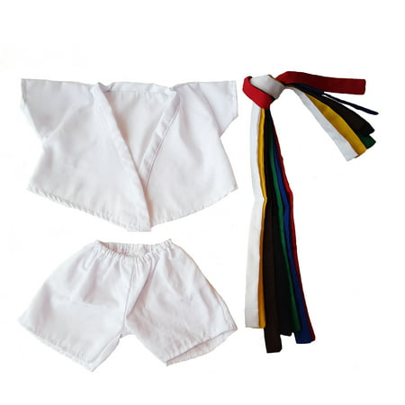 Karate Uniform Outfit Teddy Bear Clothes Fits Most 14