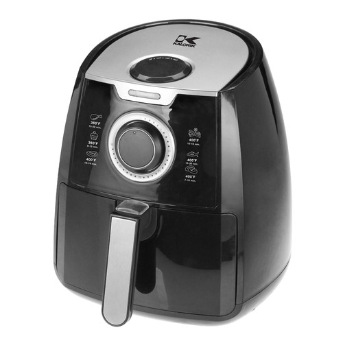 Kalorik Airfryer with Dual Layer Rack, Black