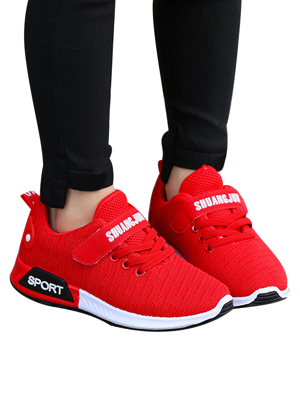 PARTyu Kids Sneaker Mesh Breathable Athletic Running Tennis Shoes for Boys