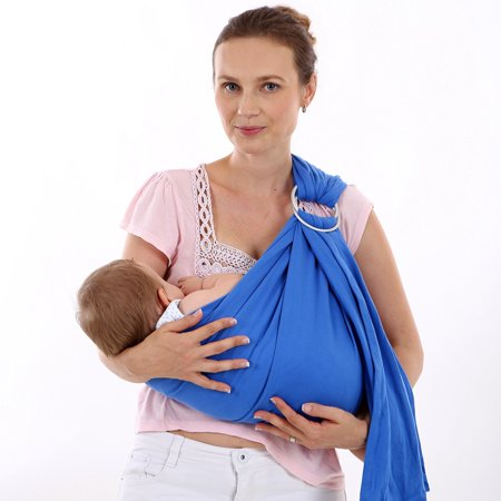 Soft Baby Wrap Cotton Baby Ring Sling Carrier Nursing Cover Baby
