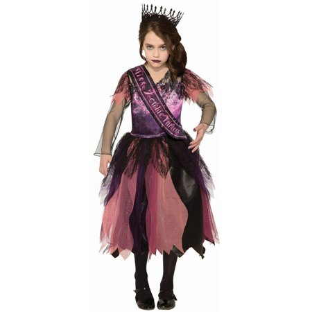 Halloween Prom Princess Zombie Child (Forum Woman's Zombie Housewife Costume)