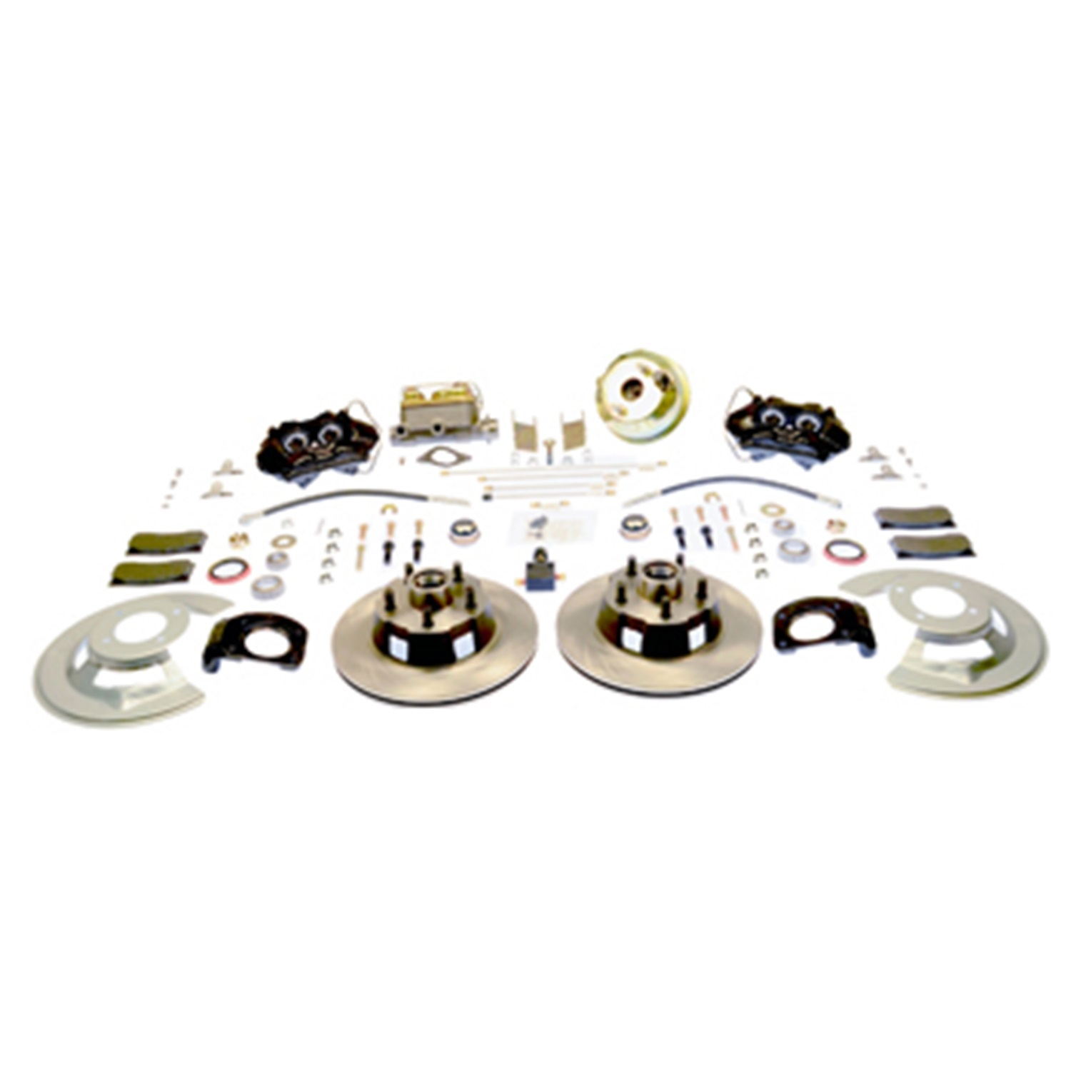 SSBC Performance Brakes A120-20 Drum To Disc Brake Conversion Kit Fits Mustang