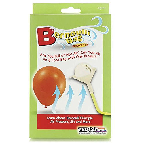 Bernoulli Bag Science Fun Kit w/5 Experiments, by Tedco