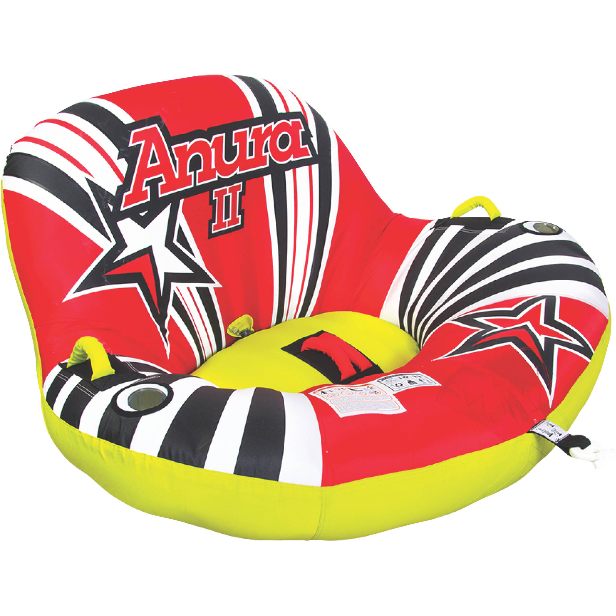 Jobe 230216001 Anura 2 Person Inflatable Towable