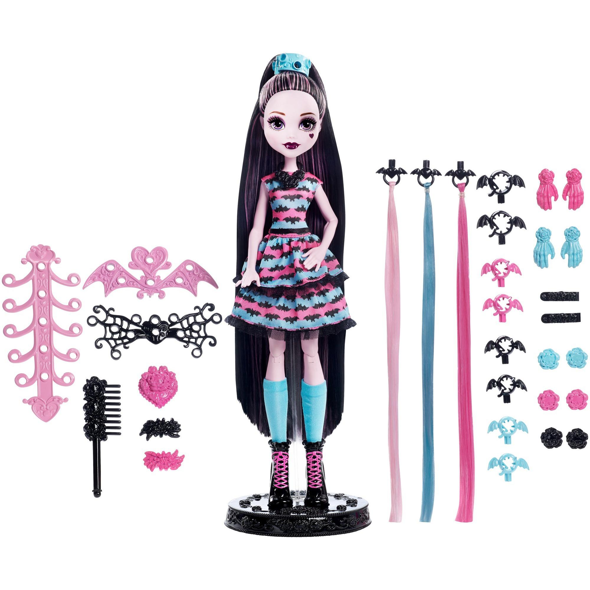 Monster High Party Hair Draculaura Doll by MATTEL INC.