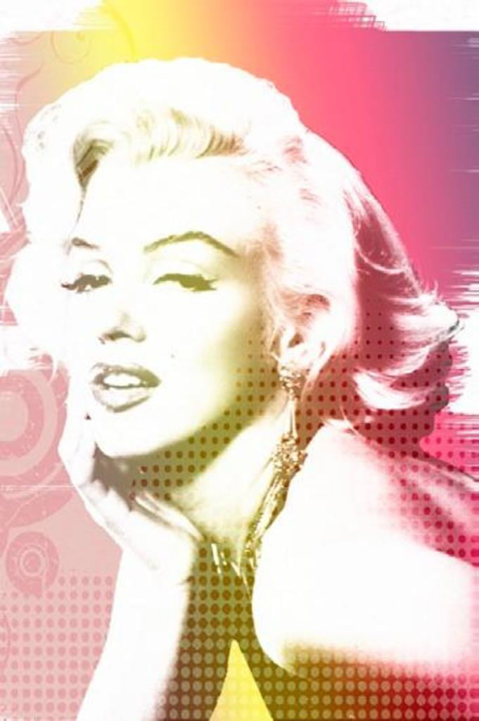 Marilyn Monroe Poster 24x36 inch rolled wall poster