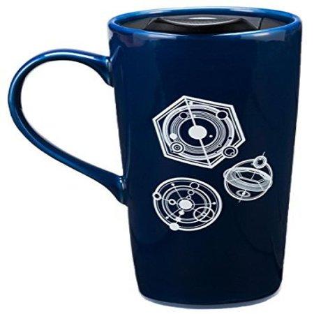 Doctor Who Travel Mug (Doctor Who TARDIS Time Machine Heat Reactive 20-oz Ceramic Travel Mug w/)