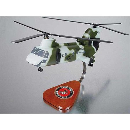 Daron Worldwide Boeing Ch 46 Marines Model Airplane