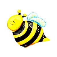 "Bee Shape Mylar Balloon - 25"""