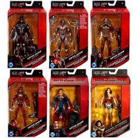 DC Multiverse Steppenwolf Series Batman, Superman, Flash, Cyborg, Aquaman & Wonder Woman Set of 6 Action Figures