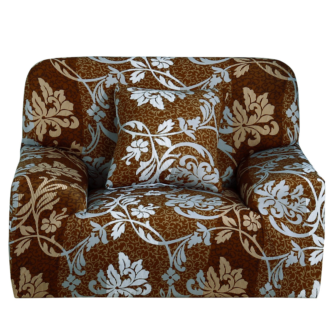 Stretch Sofa Cover Chair Loveseat Couch Slipcover Protector 1 Seater - 2Packs