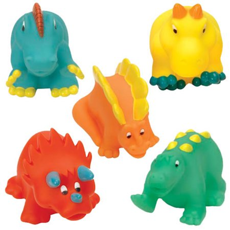 Battat Dino Bath Buddies Play Set