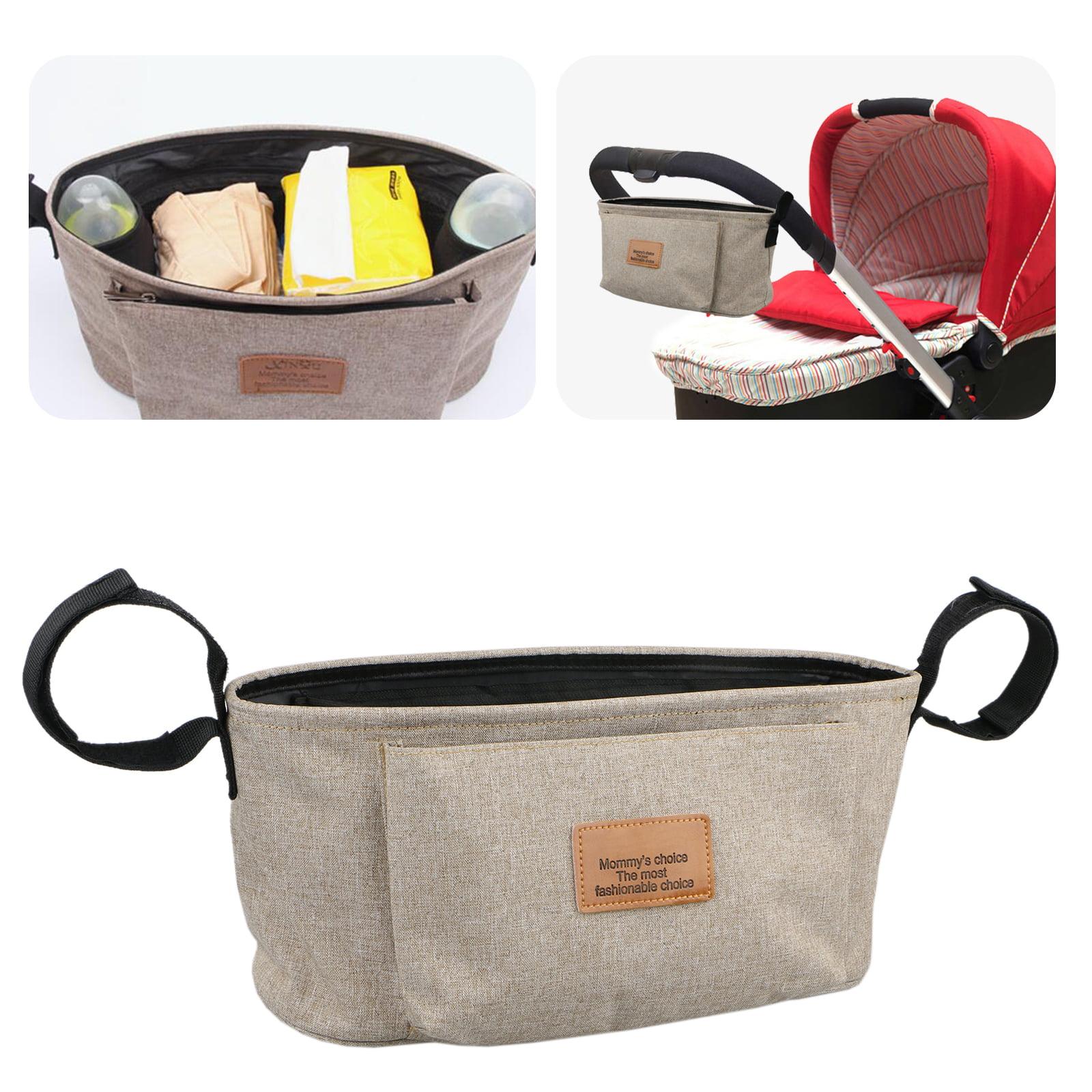 Baby Stroller Pram Pushchair Travel Storage Organizer Bag Bottle Diaper Holder