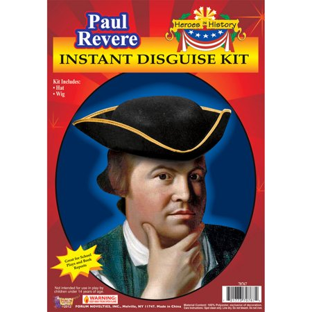 Morris Costumes Heroes In History Paul Revere, Style FM70767 - Halloween Costumes And History