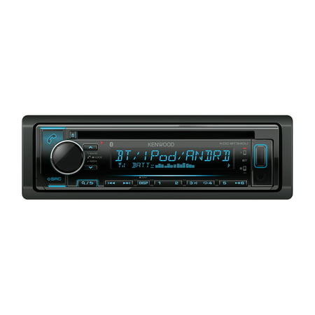 Kenwood KDC-BT340U Single-DIN In-Dash AM/FM CD Receiver With Bluetooth & SiriusXM Ready