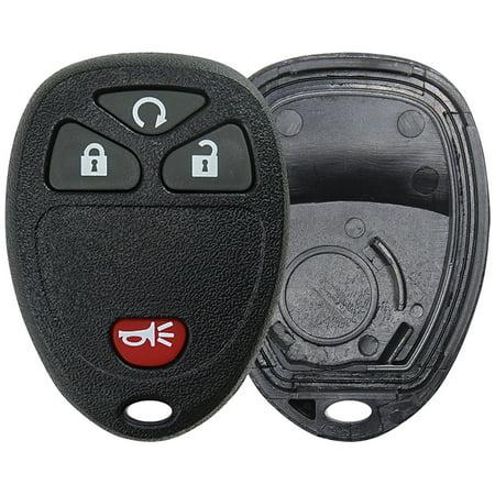KeylessOption Keyless Entry Remote Control Car Key Fob Replacement For Buick Cadillac Chevy GMC Saturn 15913421 Chevy Key Fob