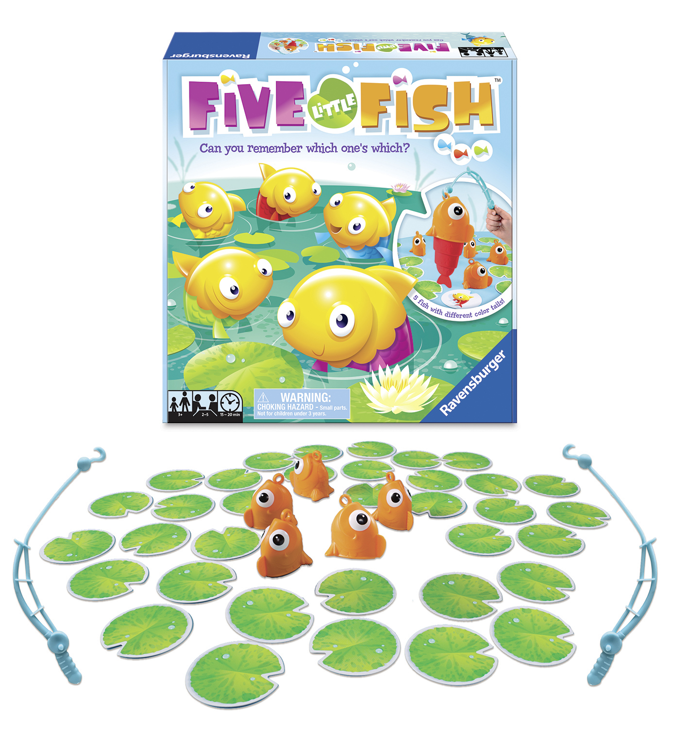 Five Little Fish Game ONLY $4.