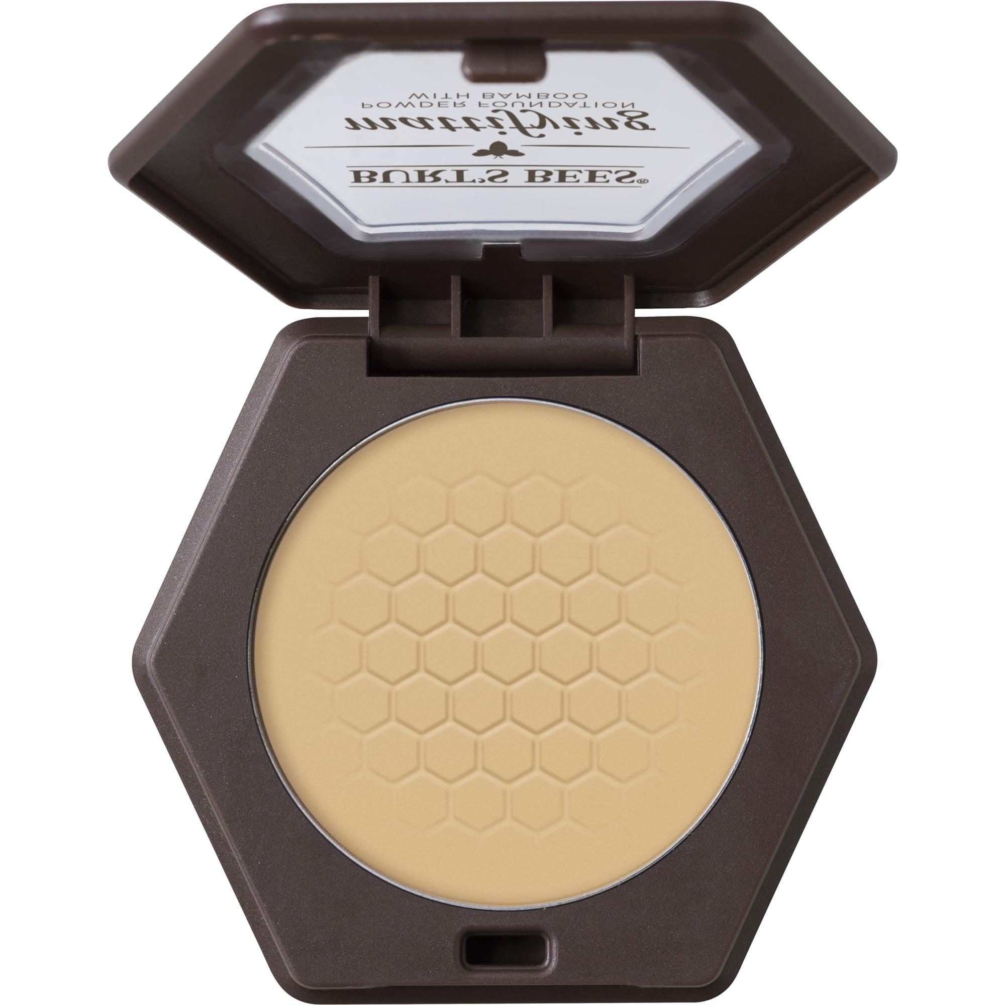 Burt's Bees 100% Natural Mattifying Powder Foundation, Sand, 0.3 oz
