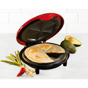 Nostalgia Electrics 8-Inch Electric Quesadilla Maker , EQM200
