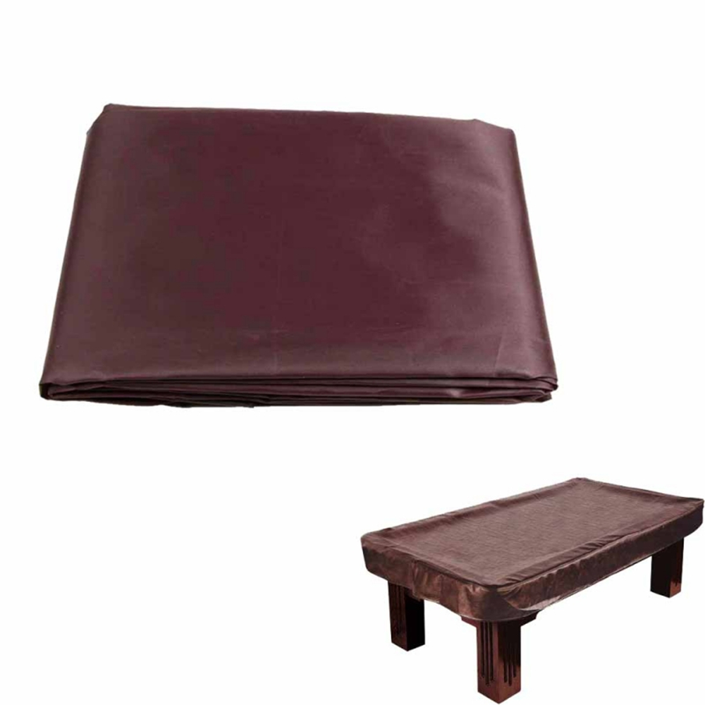 NEWEST 8 Foot Durable Billiard Pool Table Cover Coffee Lining A6003 4