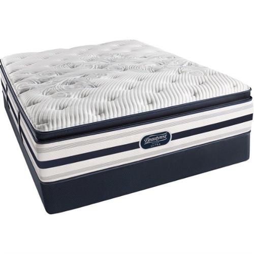 Beautyrest Recharge Ultra Bedell Plush Pillow Top Mattress-Queen