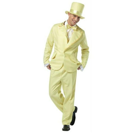 Costumes For All Occasions GC7315 70S Funky Tuxedo Pastel Yellow