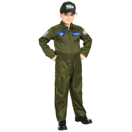 Rubies Young Heroes Air Force Fighter Pilot Child Costume, Small, One color, Rubies Young Heroes Air Force Fighter Pilot Child Costume, Small,.., By - Air Force Costume