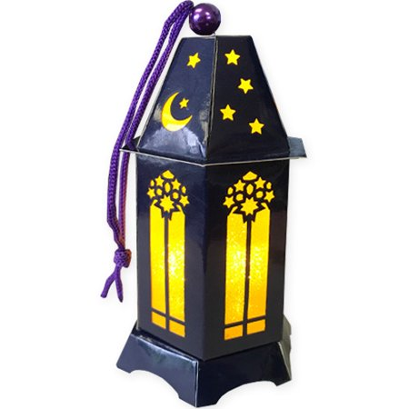 Cheap Paper Lanterns (Ramadan 'Eid Mubarak' Mini LED Paper Lantern)