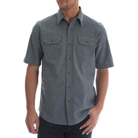 Big Men's Short Sleeve Woven Shirt
