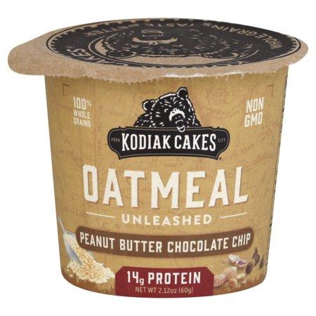 Kodiak Cakes Peanut Butter Chocolate Chip Unleashed Oatmeal, 2.12 - Double Chocolate Oatmeal