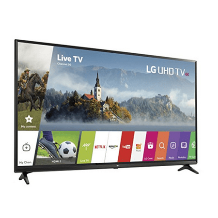LG Electronics 65UJ6300 65-Inch 4K Ultra HD Smart LED TV - Refurbished