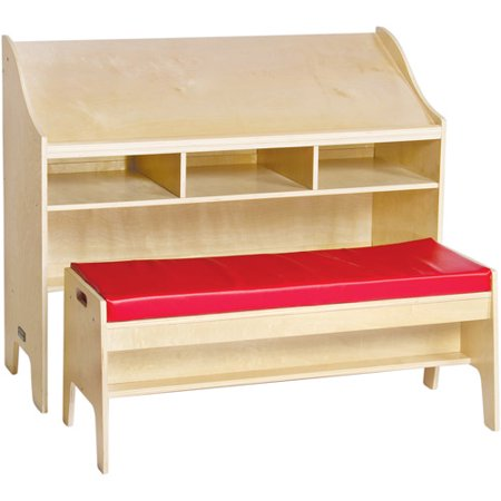 Guidecraft Single Sided Study Center Natural