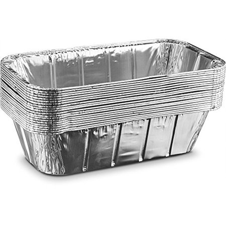 Aluminum Disposable Rectangle 5 Pound Loaf Pans For