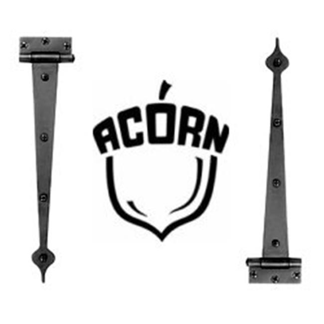 Acorn MFG RIABP 17 in. Heart Strap Hinge .5 Surface