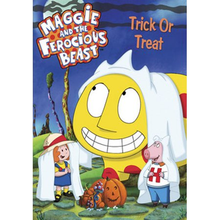Halloween Trick Or Treat Dvd (Maggie & the Ferocious Beast: Trick Or Treat)