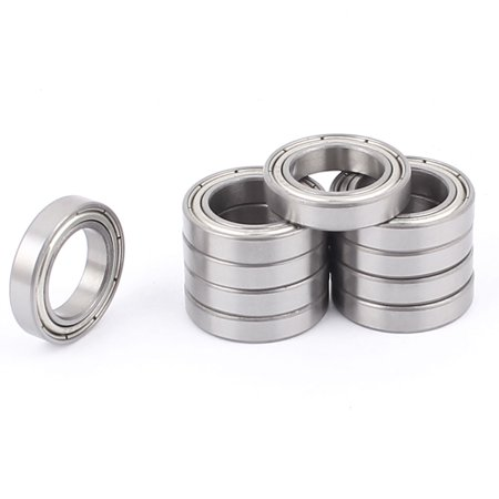 Pack of 10 Balls Bearing 6802Z ID (Inner Diameter