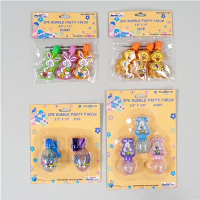 RGP G90503 Bubbles Easter Party Favors, Pack Of 48