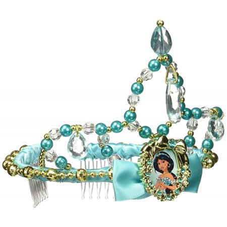 Disguise Jasmine Classic Disney Princess Aladdin Tiara, One Size - Princess Jasmine And Aladdin Halloween Costumes